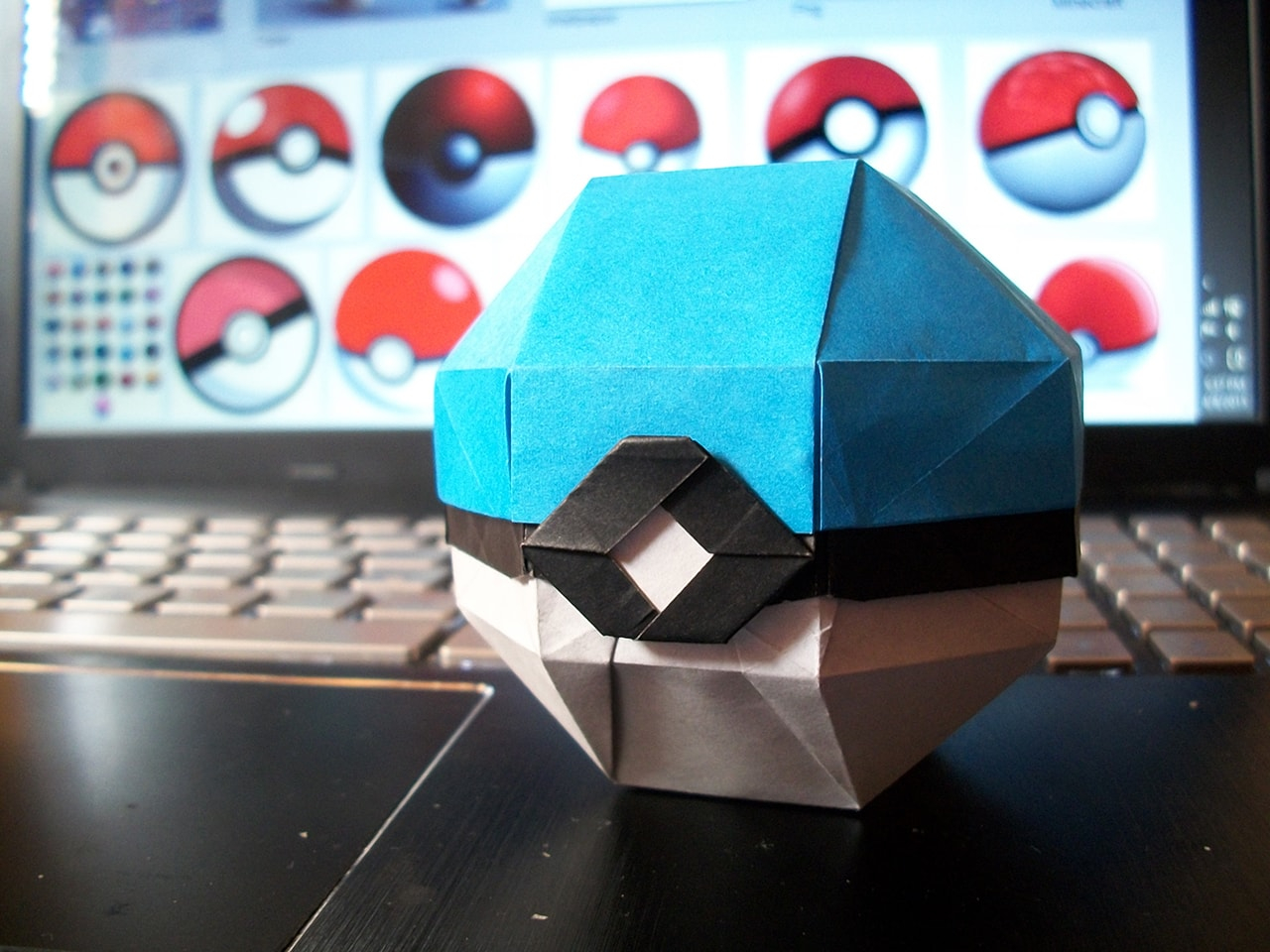 Origami Pokeball Instructions Pokemon Origami From The Best Generation Part 1