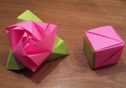 Origami Rose Cube How To Make An Origami Magic Rose Cube Valerie Vann