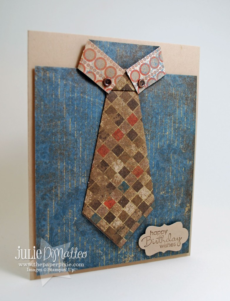 Origami Shirt And Tie Origami Shirt Tie Card The Paper Pixie