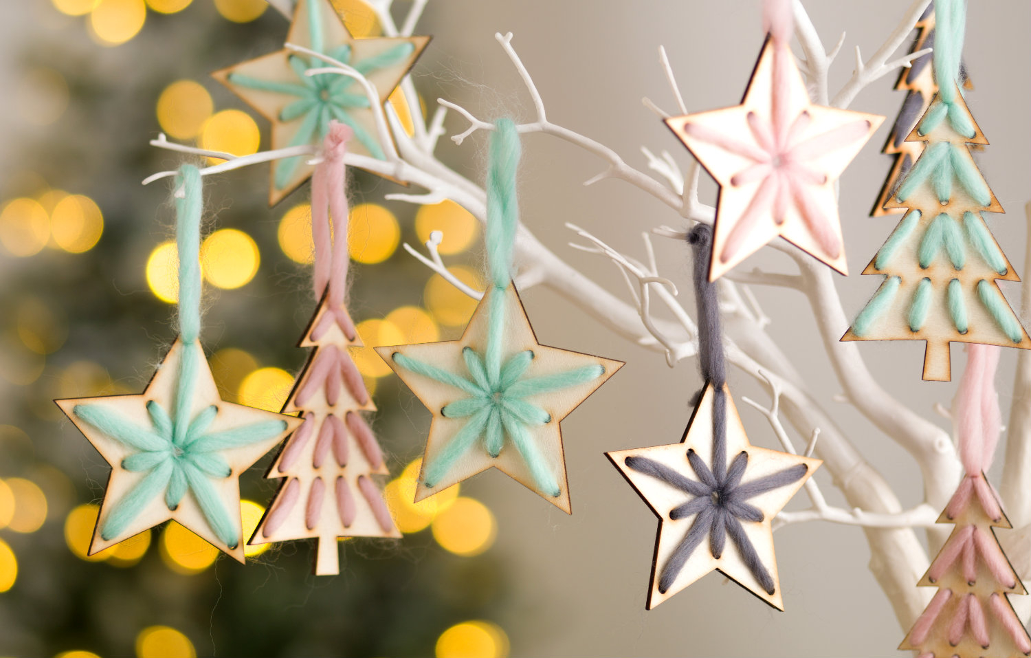 Origami Star Decorations Christmas Star Decoration