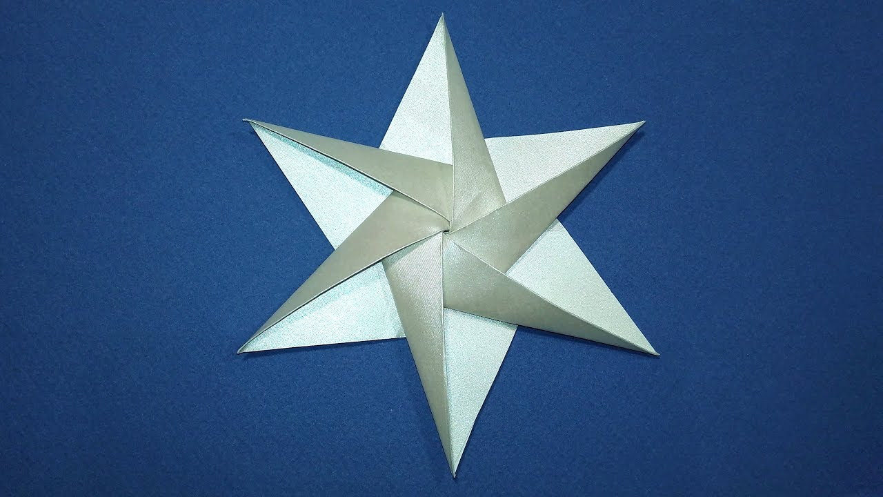 Origami Star Decorations Easy Origami Star 3d Paper Star 6 Point Ideas For Christmas Decorations Transparentpaper
