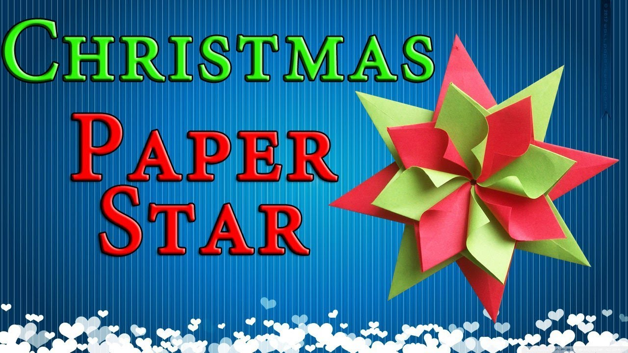 Origami Star Decorations Easy Paper Christmas Decorations Origami Star New Year Party Home Decor Ideas Diy Crafs