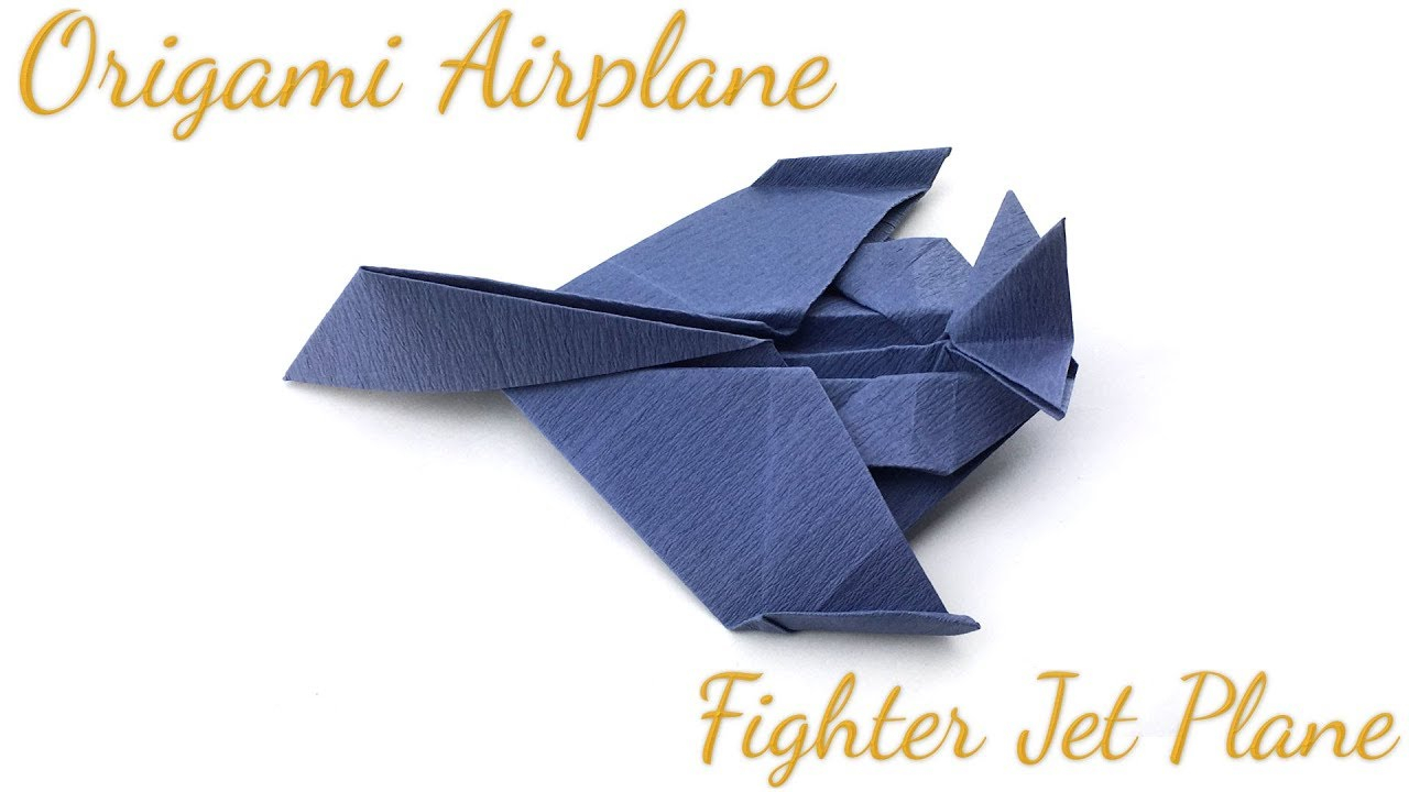 Origami T Shirt With Tie How To Make Origami Airplane