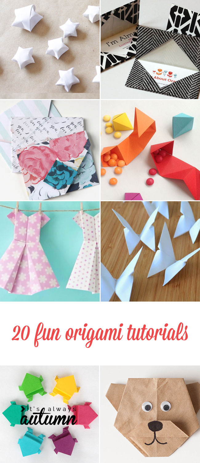Origami Things For Kids 20 Cool Origami Tutorials Kids And Adults Will Love Its Always