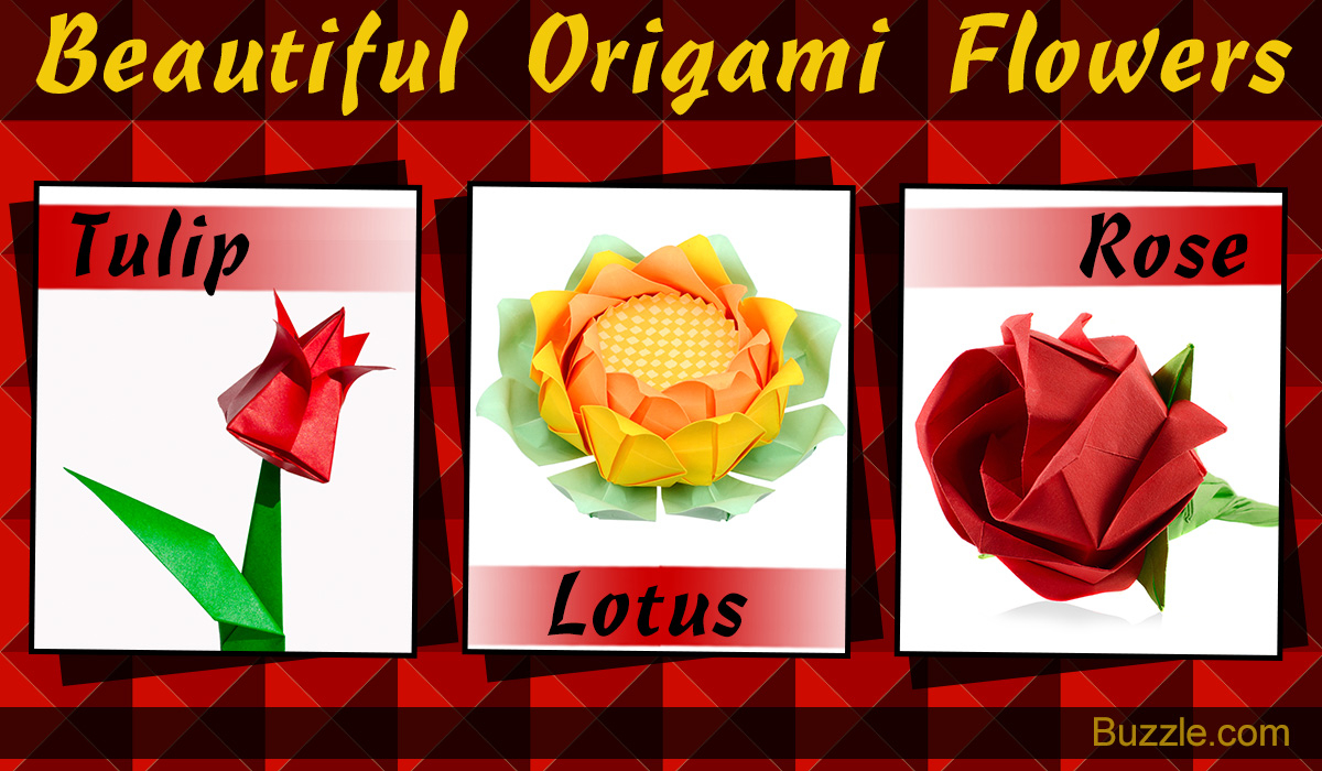 Origami Things For Kids Easy Guide For Kids To Make Marvelous Origami Flowers