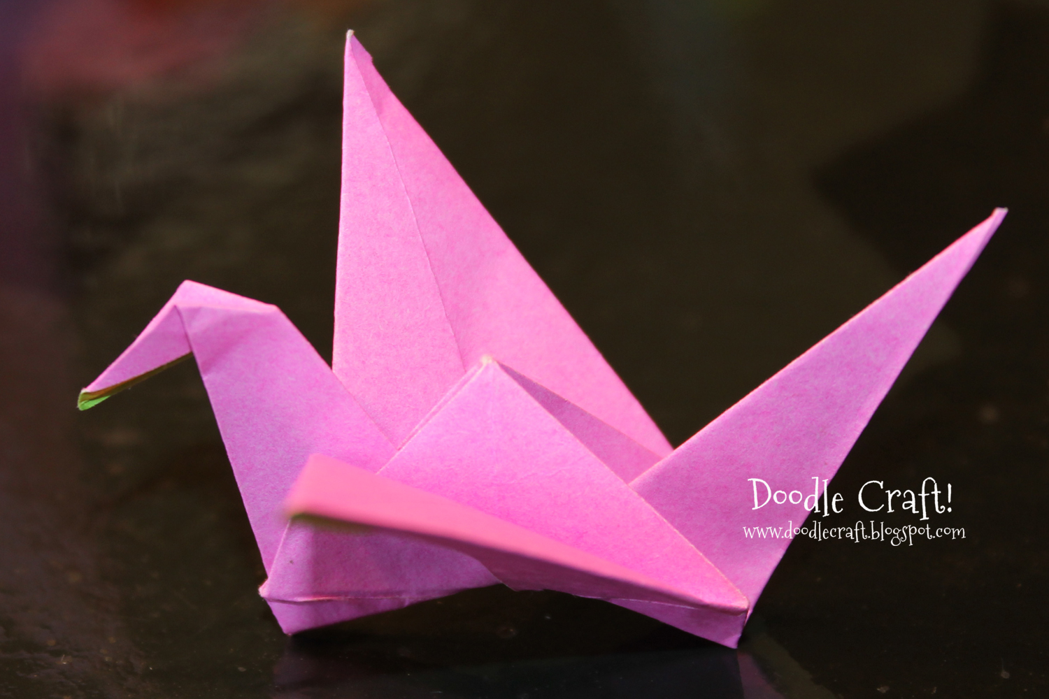 Origami Things For Kids Origami Flapping Paper Crane Mobile