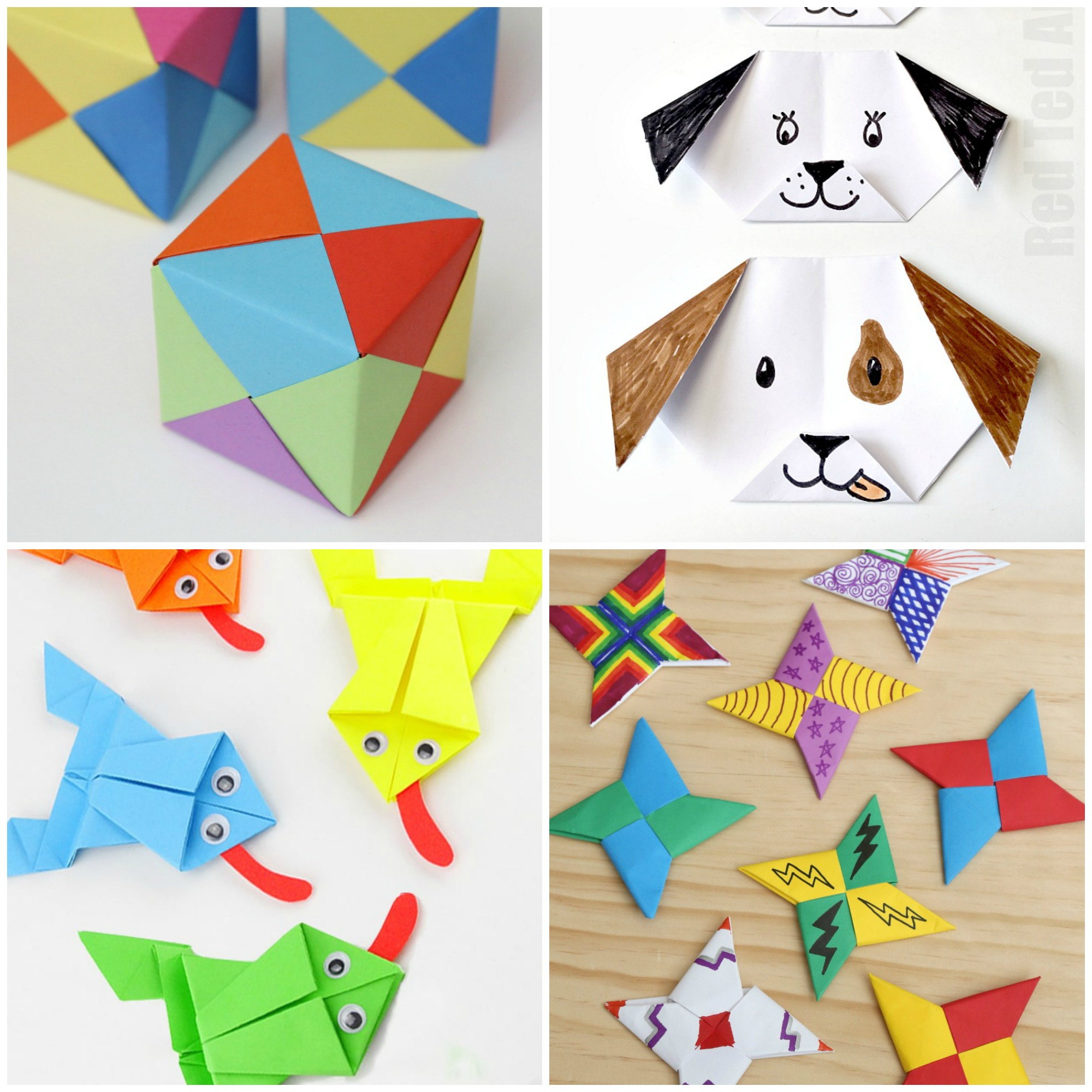Origami Things For Kids Paper Crafts For Kids 30 Fun Projects Youll Want To Try Frugal