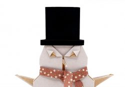 Origami Top Hat Instructions Origami Top Hat For The Snowman Jo Nakashima