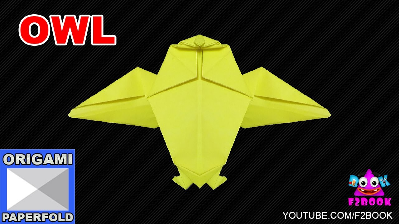 Owl Origami Easy Easy Origami Owl Instructions How To Make A Paper Animals F2book