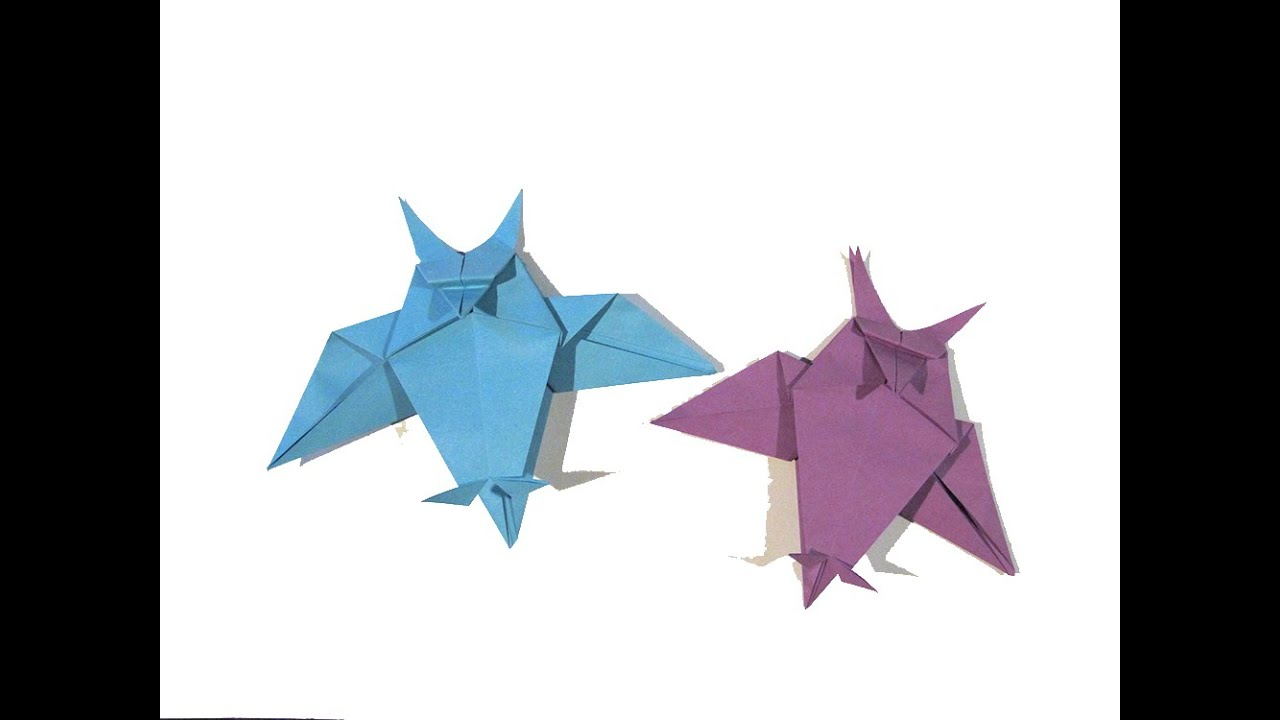 Owl Origami Easy Halloween Origami Owl First Version Easy Origami Tutorial How To Make An Easy Origami Owl