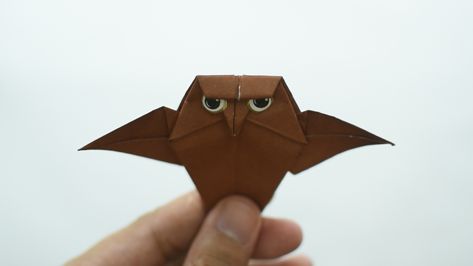 Owl Origami Easy How To Make An Origami Owl With Pictures Wikihow