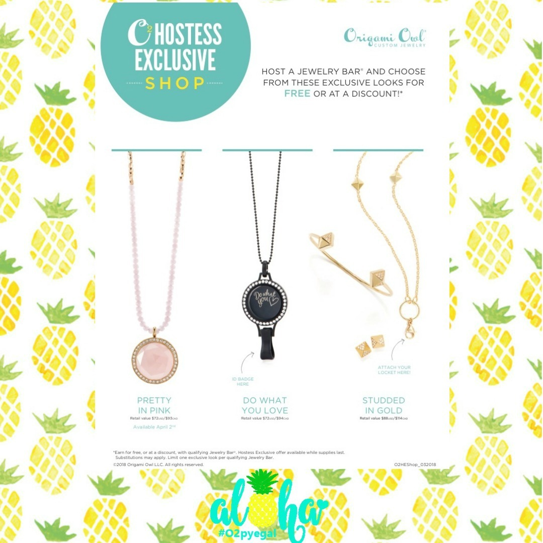 Owl Origami Easy Pretty In Pink April Hostess Exclusive From Origami Owl Direct