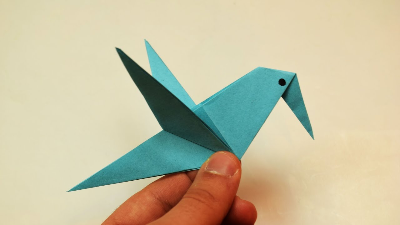 Paper Bird Origami How To Make A Paper Bird