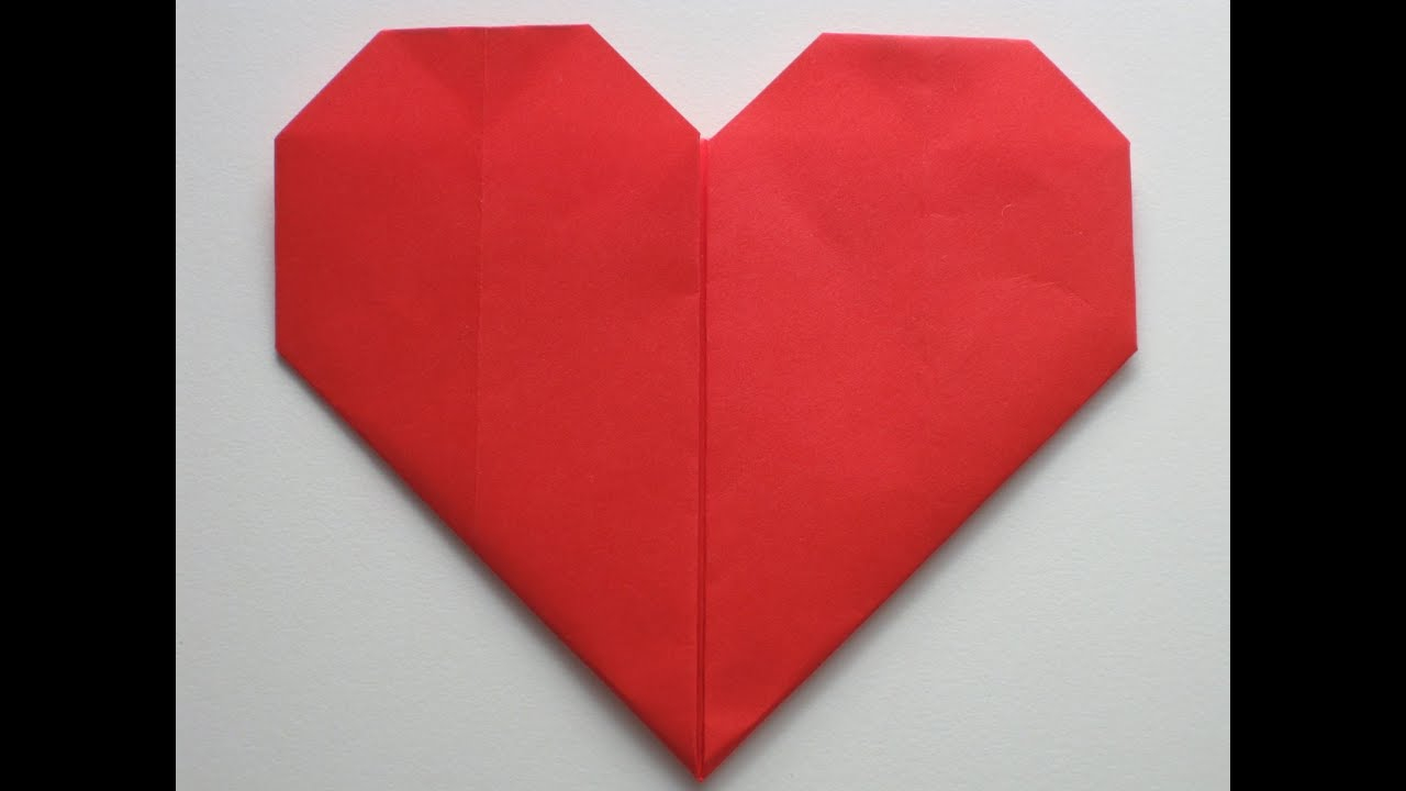 Puffy Heart Origami Easy Origami Heart Folding Instructions How To Make An Easy