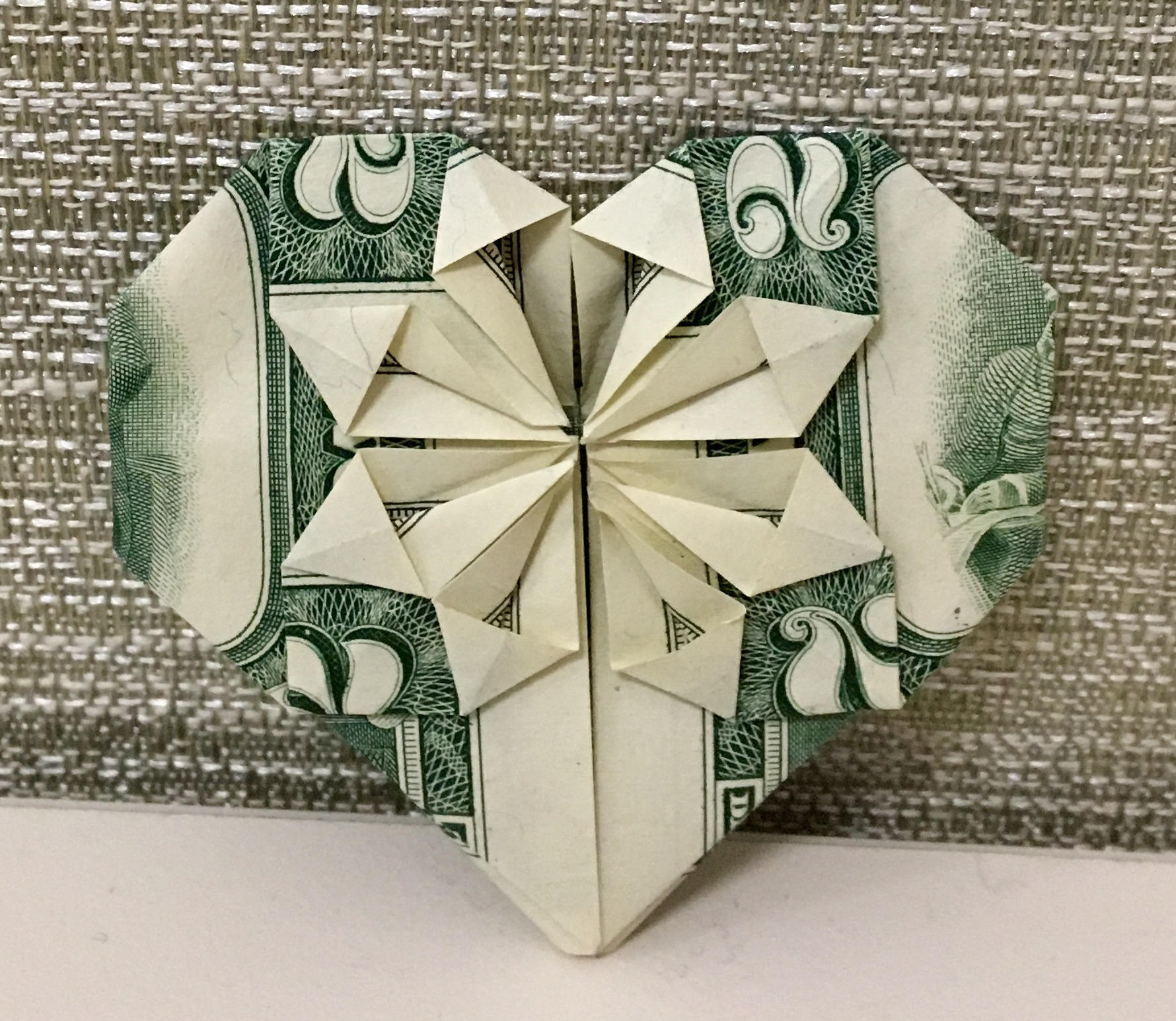 Shirt And Tie Money Origami Money Heart Or Money Shirt With Tie Origami Your Choice Of One Dollar Or Two Dollar Bill