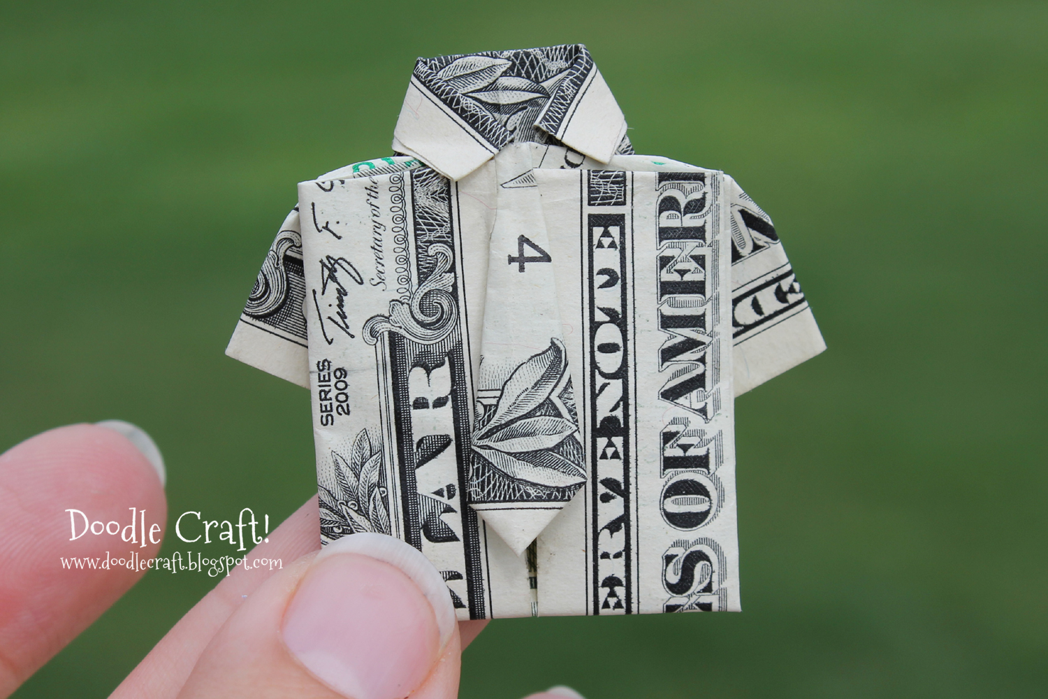 Shirt And Tie Money Origami Origami Money Folding Shirt And Tie