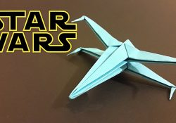 Star Wars X Wing Origami Origami Star Wars X Wing How To Make