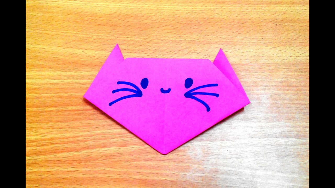 Origami Simple Cat Instructions | 720x1280