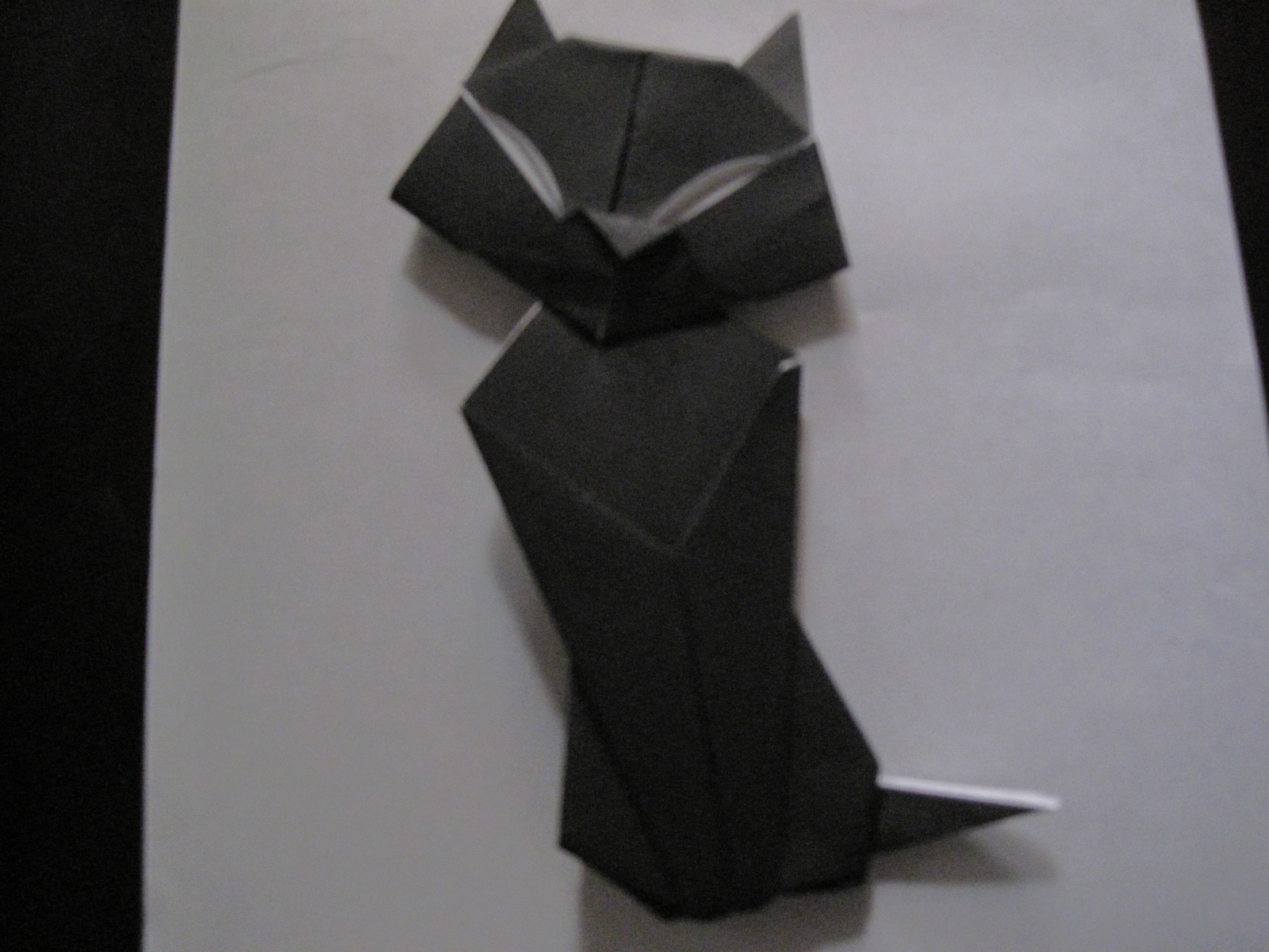 Origami (easy) Siamese Cat - Yakomoga Origami tutorial - YouTube | 1200x1600