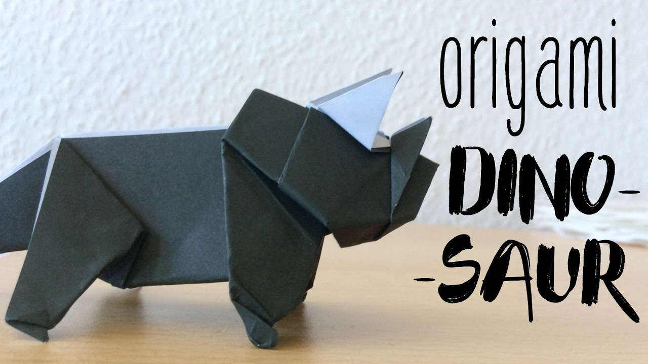 Origami Dinosaur Stock Illustrations – 189 Origami Dinosaur Stock ... | 720x1280